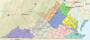 Regions GIS Map